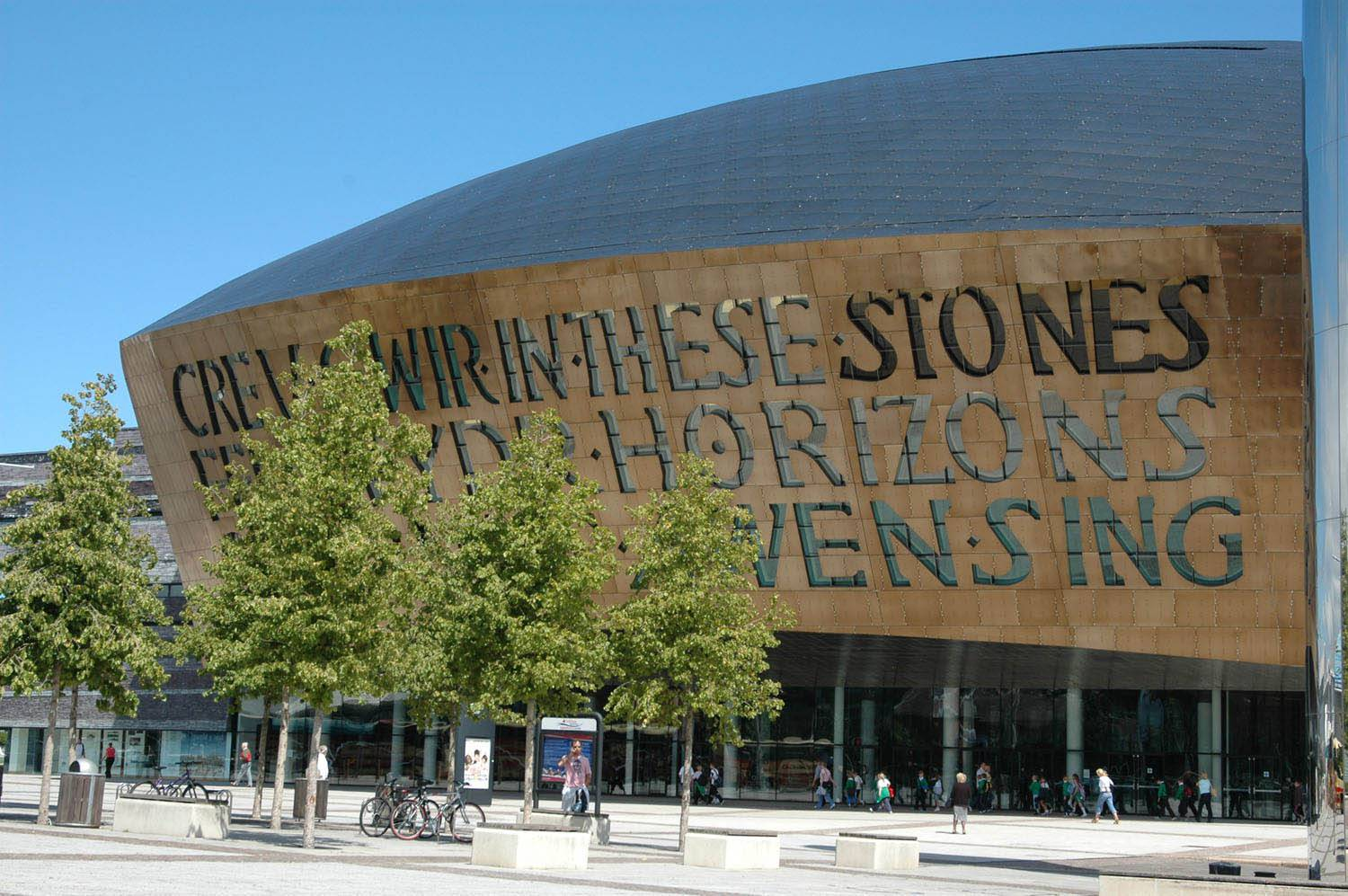 Wales Corporate Travel Conferences, Wales Millennium Center, Cardiff, Wales