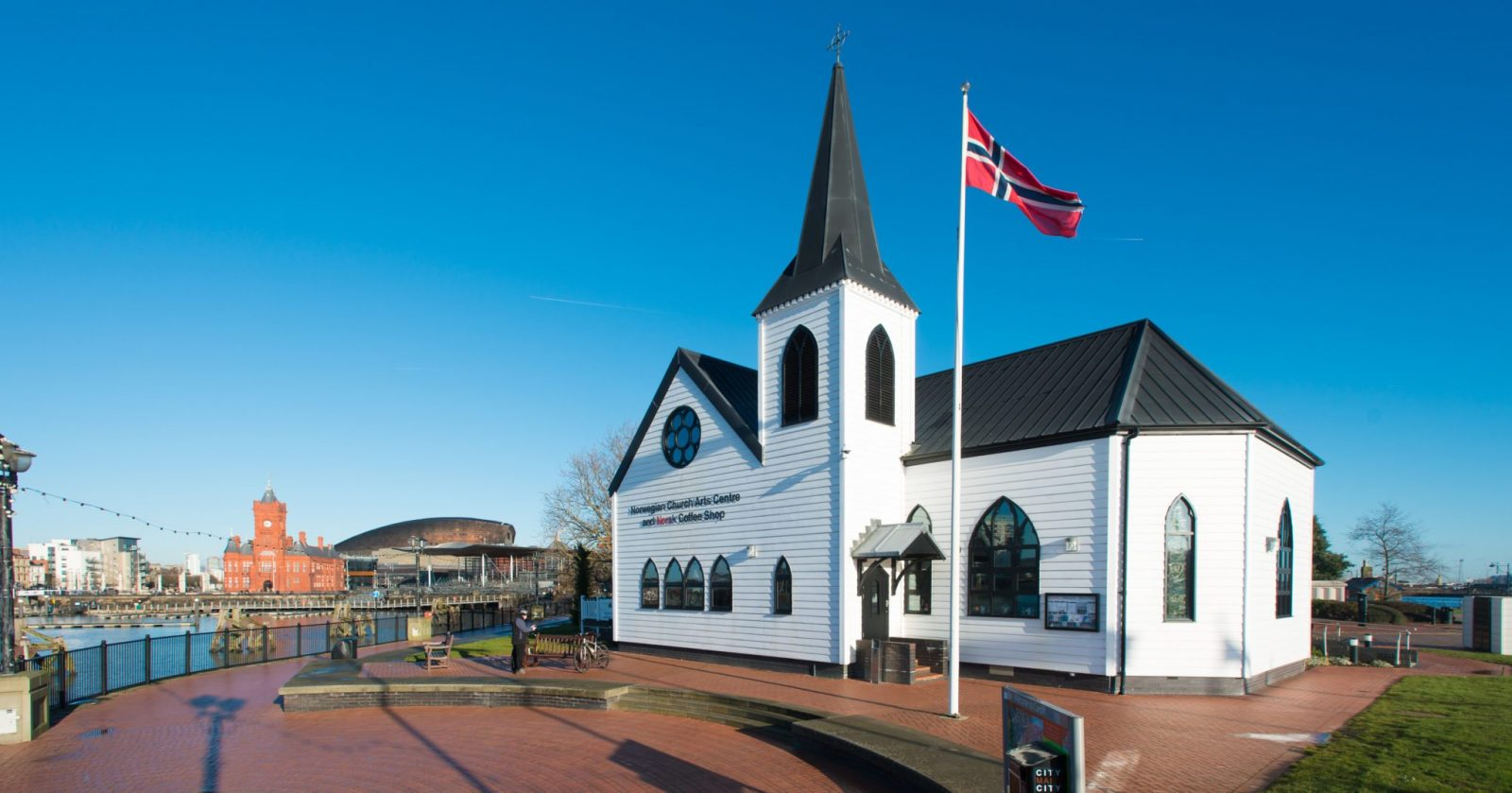 Wales Corporate Travel Meetings, Norwegian Church, Cardiff, Wales