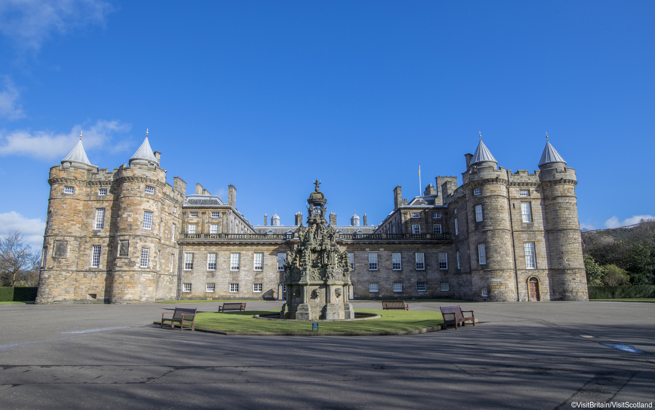 Scotland Corporate Travel Incentives - Palace of Holyrood House, Edinburgh