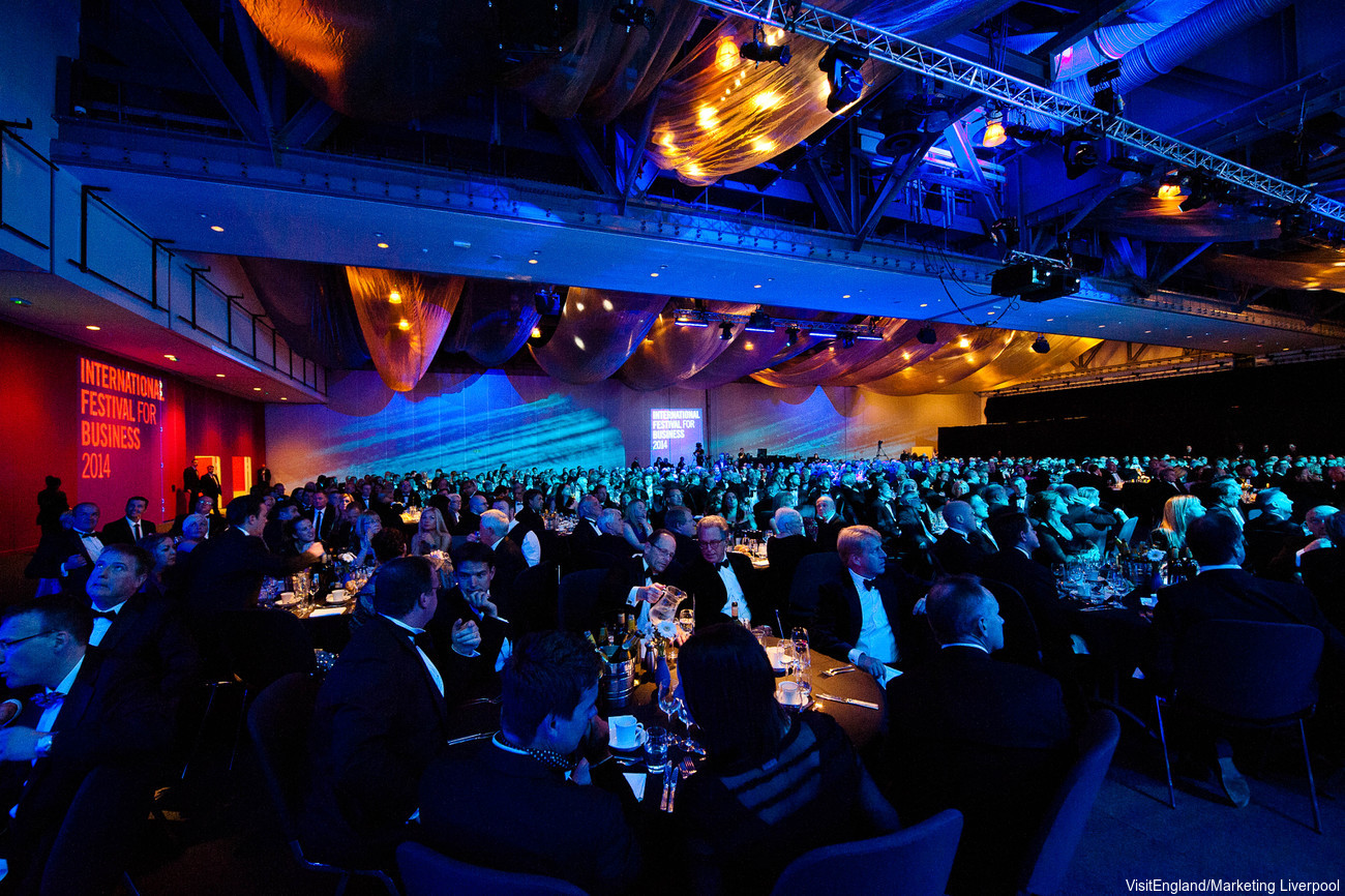 England Corporate Travel Conferences - ACC Liverpool
