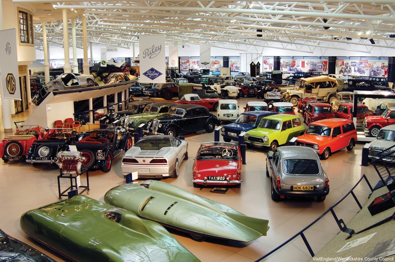 England Corporate Travel Conferences - British Motor Museum