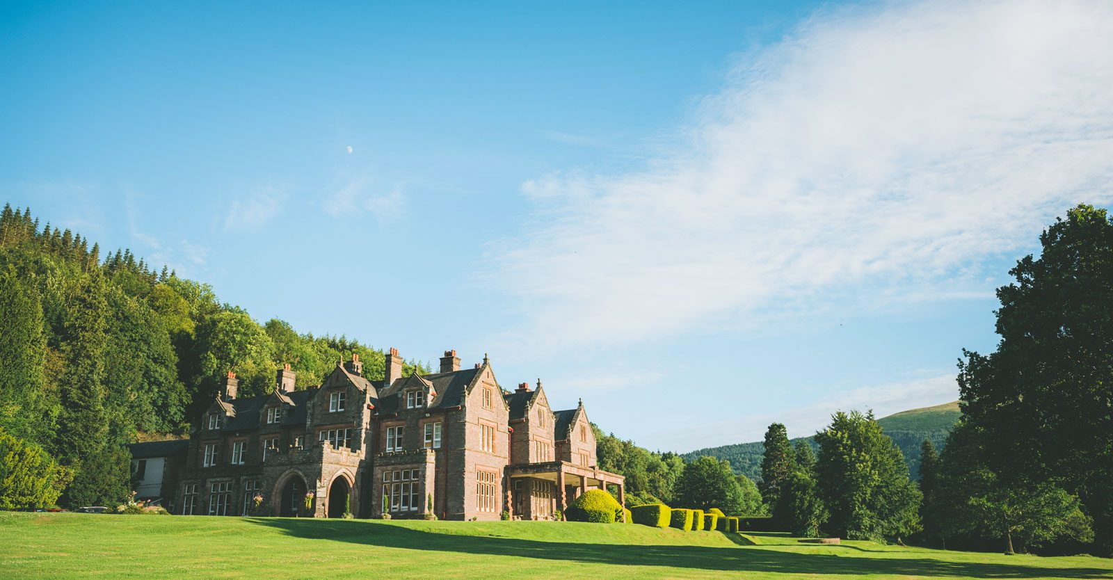 Wales Corporate Travel Events, Buckland Hall, Bwlch, Wales