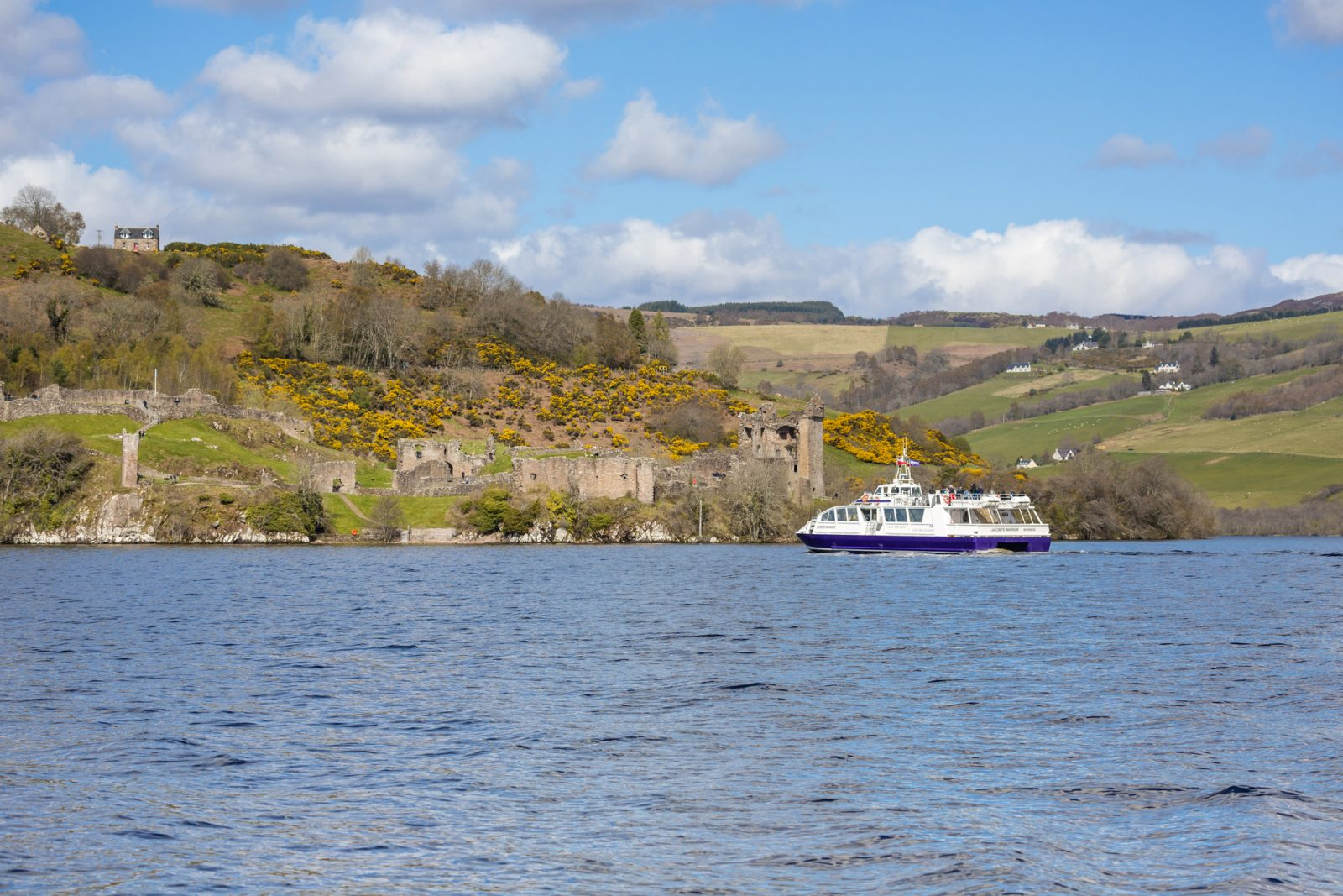 Scotland Corporate Travel Incentives - Cruise boat on Loch Ness