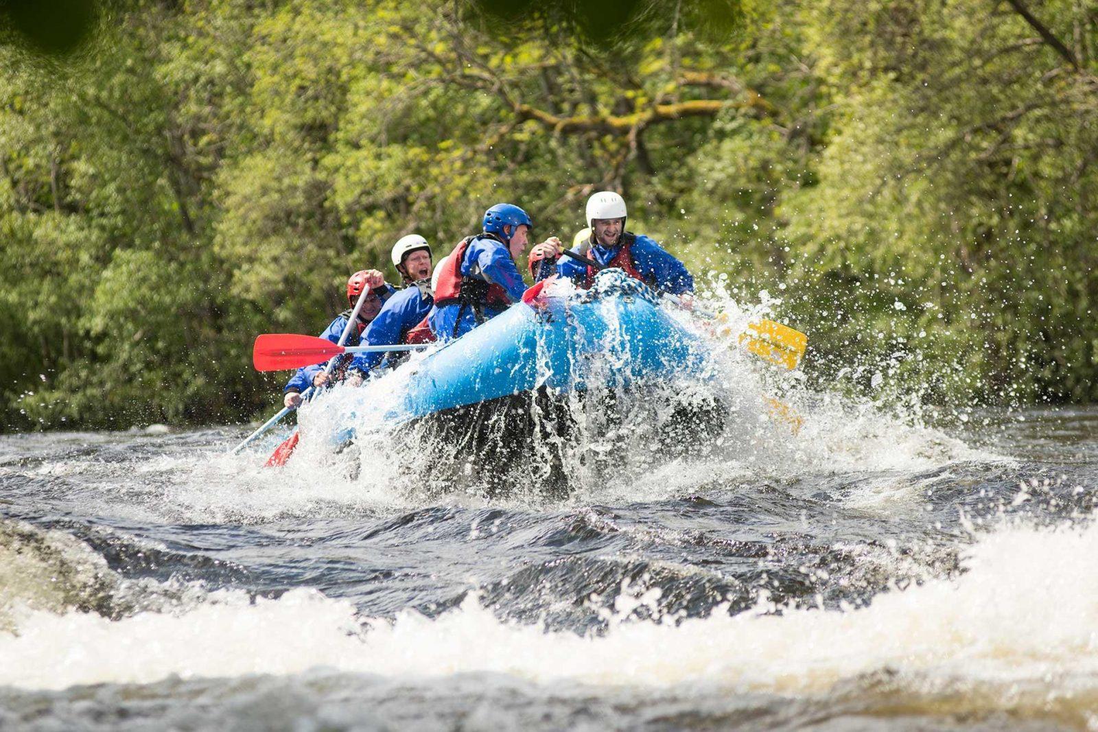 Scotland Corporate Travel Team Building - Canyoning in Allt a'Bhealaich