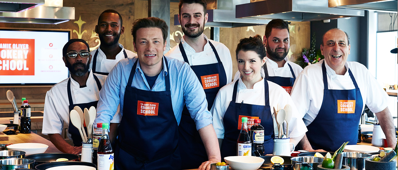 England Corporate Travel Incentives - Jamie Oliver Cookery School, London