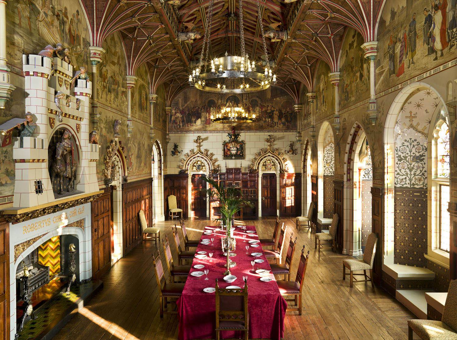 Wales Corporate Travel Incentives, Cardiff Castle Banqueting Hall, Cardiff, Wales